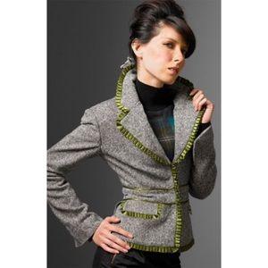 L.A.M.B. Gwen Stefani wool tweed blazer